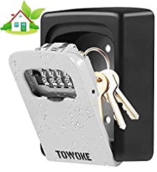 Key Lock Box Wall Mount - TOWOKE Waterpr...