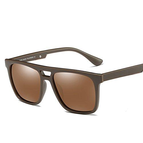 400 C4 Hombre para Mujer Polarizadas Gafas para De C2 Protección Sol Aviator UV xwqvayFA7