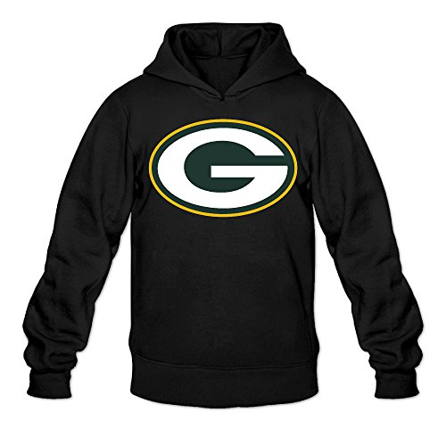 Price comparison product image Show Time Men's Green Bay Logo Packers Long Sleeve Hood Black M