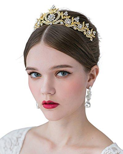 SWEETV Crystal Princess Rhinestone Accessories