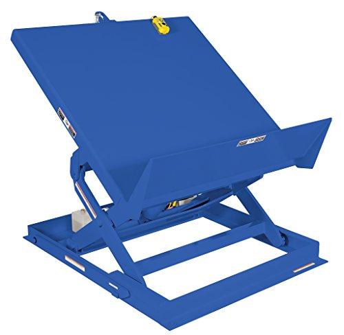Vestil-ULTT-3648-4-Blue-Ergonomic-LiftTilt-Table-4000-lb-Capacity-460V-36-x-48
