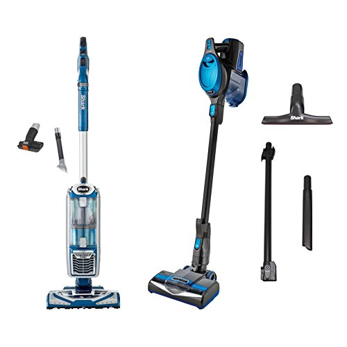 Shark Rotator Vacuum + Rocket Ultralight Vacuum, Blue (Certified Refurbished)