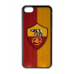 iPhone 5c Cell Phone Case Black As Roma Logo JSK922274