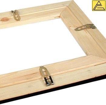 Carcasa rígida Spring - escalera tipo para guardar lienzo en estructura - 10 unidades de escalera con tornillos: Amazon.es: Bricolaje y herramientas
