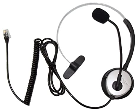 Zhsupershop Call Center Telephoneip Phone Headset With Boom