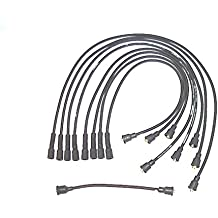 Accel 118044 ProConnect OEM Replacement Straight Boot Black Spark Plug Wires 9pc Set