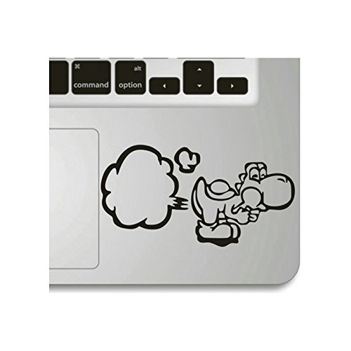 Echohc Keypad Sticker for Palm Rest- Big Break Wind- Creative DIY Vinyl Apple Macbook Symbol Keypad Front Decal Sticker Humor Handmade Partial Art Ski…