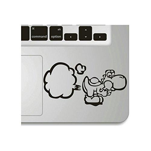 Echohc Keypad Sticker for Palm Rest- Big Break Wind- Creative DIY Vinyl Apple Macbook Symbol Keypad Front Decal Sticker Humor Handmade Partial Art Ski…