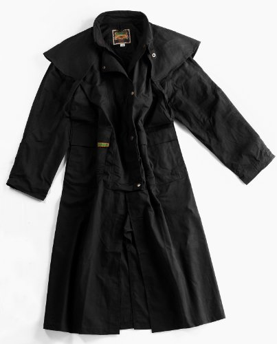 The Oilskin Drover (Medium, (Duster Leather)