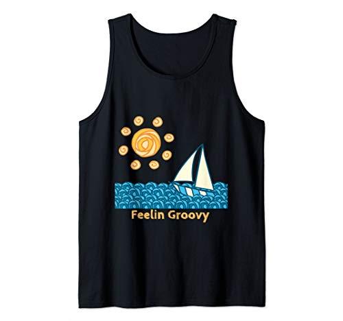 Fun Feelin' Groovy shirt, It's the Grooviest Summer Tank Top ()