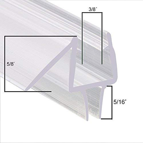 Showerdoordirect Com 38ddbs30 Frameless Shower Door Seal With Wipe