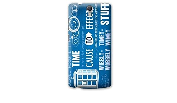 Case Carcasa Orange Nura2 / Nura 2 Doctor Who - - bleu B ...