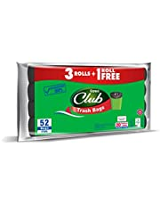 Sanita Trash Bags Club, 20 Gallons, 52 Bags, OXO Biodegradable