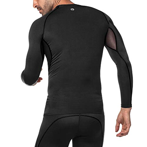 Pelle A Lapasa Layers shirt Base Compressione Uomo T Seconda Sportiva qMGSzVUp