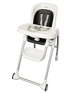 Evenflo Modern High Chair, Black (Older Version) (Discontinued by Manufacturer)
