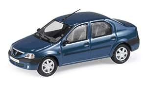 Dacia Logan, azul metálico, Modellauto, Fertigmodell, Eligor 1:43