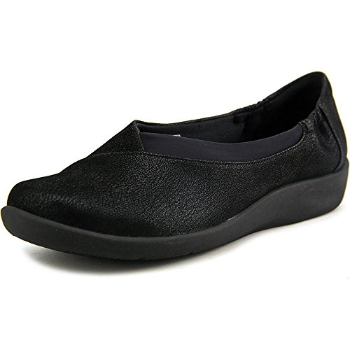 clarks-womens-cloudsteppers-sillian-jetay-flat-black-synthetic-nubuck-9-m-us