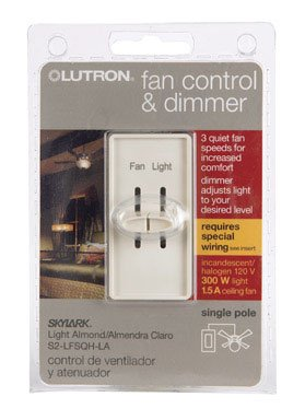 Skylark Fan/Light Control Indoor 1.5 Amp Light Almond Ul, Csa Clamshell
