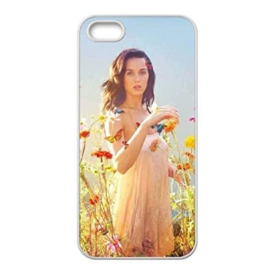 wugdiy New Fashion Hard Back Cover Case for iPhone 5,5S with New Printed katy perry