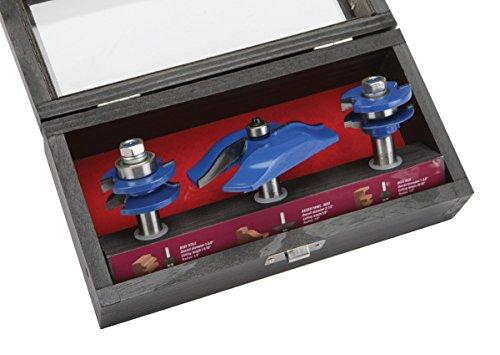3 Piece Doormaker Stile / Raised Panel Router Bit Set Review