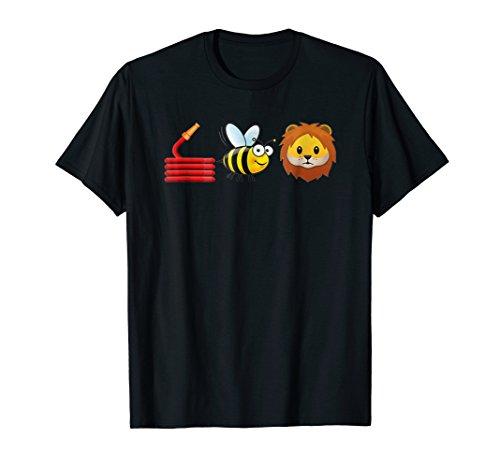 Bee T-shirt Womens (Hose Bee Lion T-Shirt I am a FireFighter T-Shirt)
