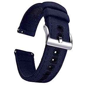 Axcellent Canvas Strap for Samsung Galaxy Watch Active, 20MM ...