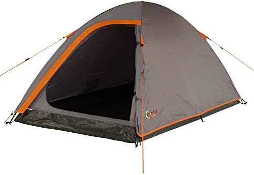 Portal Outdoor Leo 2 Lightweight Touring Tent, Fibreglass Poles, Double  Layer Roof with Large Entrance Door and Free Storage Bag
