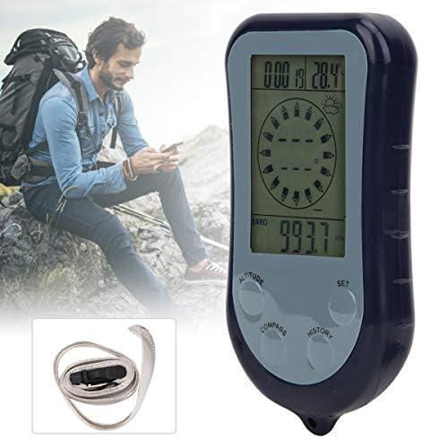 Wallfire Bussola Barometro Termometro Altimetro Altimetro Digitale Multifunzionale per attivit/à di Avventura in Campeggio Escursioni Allaperto