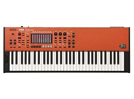 Amazon.com: Vox Continental 61-key Performance Keyboard with Stand: Musical Instruments