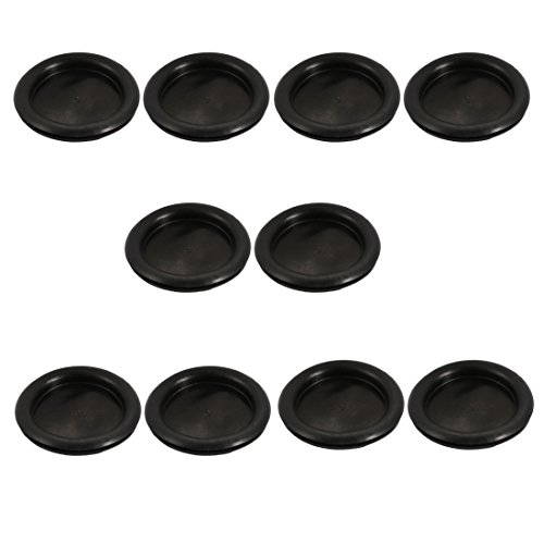 uxcell 10Pcs Electrical Rubber Wire Protection Grommet Gasket 80mm Drill Hole Diameter by uxcell