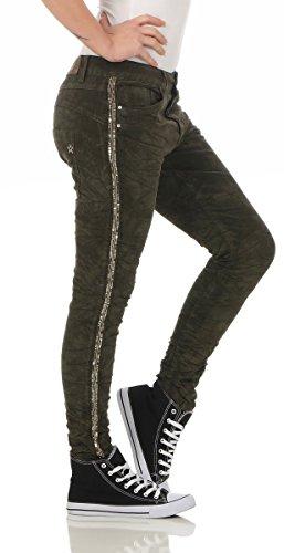 noir 36 Bleu Femme Jeans Fonc Lexxury Vert txqRAI