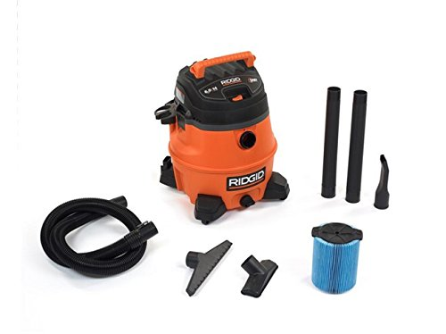 Ridgid WD1450 14-Gallon 6-Horsepower Wet/Dry Vacuum