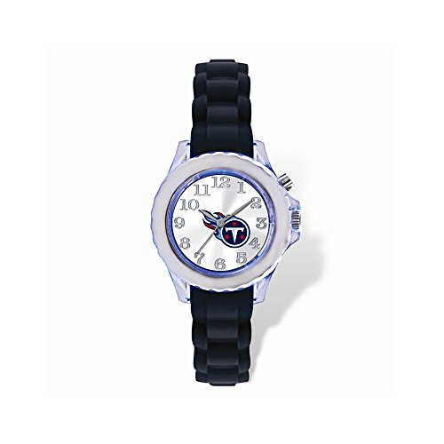 Gifts Licensed Gifts Youth NFL Tennessee Titans Flash Black Strap Watch