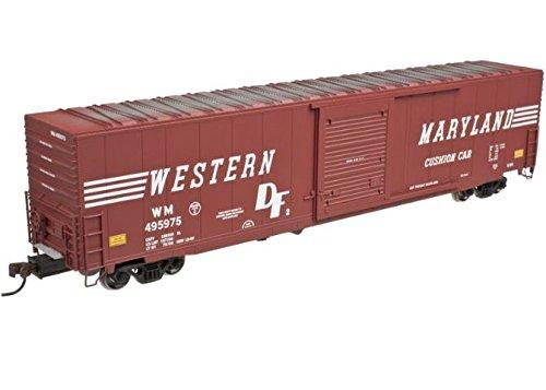Atlas HO Scale 60' ACF Single Door Auto Box Car Western Maryland/WM - Boxcar Maryland