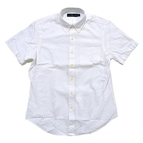 RALPH LAUREN Mens Sport Short Sleeves Button-Down Shirt White XL