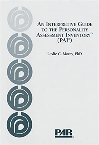 an interpretive guide to the personality assessment inventory pai