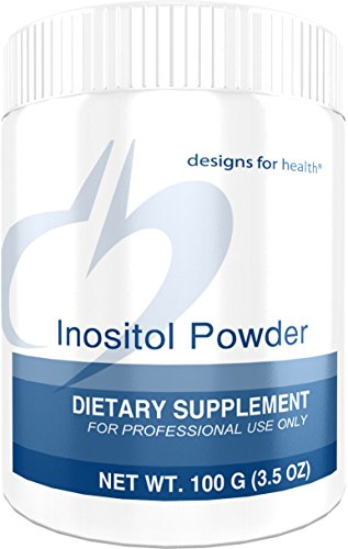 Designs for Health Inositol Powder - 700 Milligrams, Mood, Relaxation + Hormone Support (138 Servings, 100 Grams)