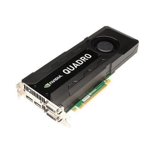 PNY VCQK5000MAC-PB Quadro K5000 MAC 4GB DDR5 256-Bit PCI Express 2.0 SLI Ready Workstation Video Card