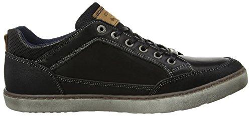 Dockers by Gerli Herren 41la002-402100 Sneaker Schwarz (Schwarz)