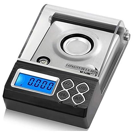 fe517a3d130e Amazon.com : SODIAL Digital Counting Carat Scale Precision Portable ...