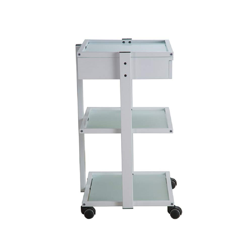 USA Salon and Spa Abel + Beauty Trolley With Three Tier Glass USA-1040A by USA Salon & Spa