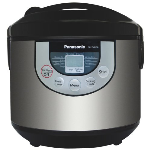 Panasonic 10 Cup Fuzzy Logic Multi-Cooker Small Appliance SR