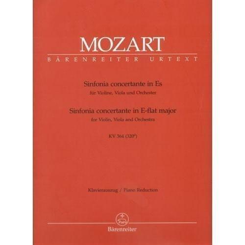 Mozart, W.A. - Sinfonia Concertante in E-flat Major, K. 364 - Violin and Viola with (Concertante Viola)