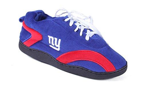 Blije Voeten En Comfortabele Voeten - Officieel Gelicenceerde Heren En Dames Nfl Rondom Pantoffels New York-reuzen