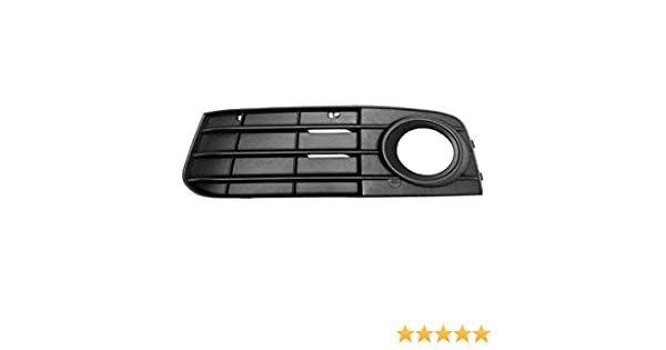 CPP Front Left Bumper Insert for 2009-2012 Audi A4 AU1038119