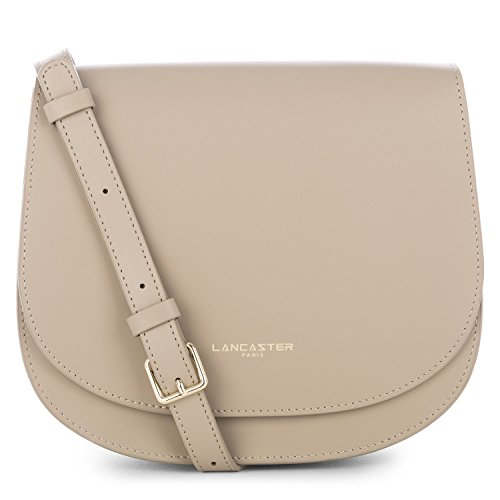 lancaster-paris-womens-52836stone-grey-leather-shoulder-bag