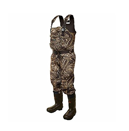 Cheap Frogg Toggs Bull Cleated Bootfoot Wader, Realtree Max, Size 9