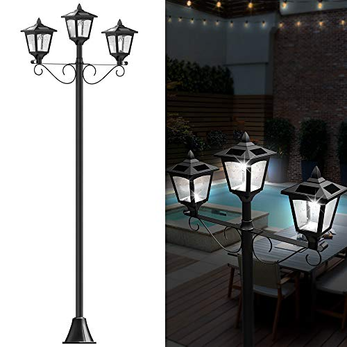 Outdoor Lamp And Post