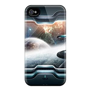 BEF14279ZXOk Cases Covers Protector Ipod Touch 4 Fantasy Space Art Cases