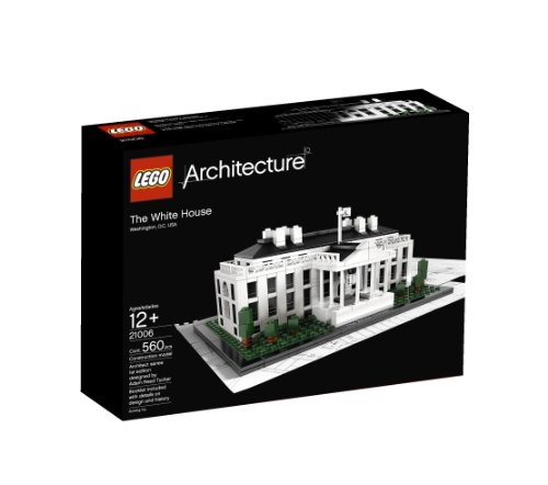 LEGO Architecture White House (21006) (Lego Architecture Building Set)